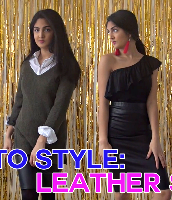 4 Seasons Of Style: How To Style A Leather Skirt All Year Round!