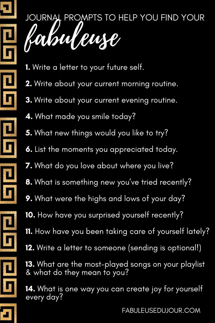 Journal prompts for joy and happiness